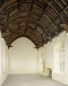 Late 15th century refectory roof, Cleeve Abbey, Somerset, (c) English Heritage Photo Library