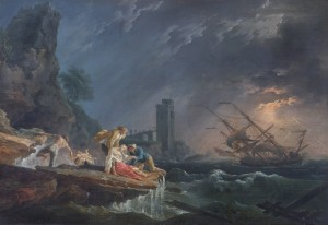 A Shipwreck, after Vernet: Apsley House © English Heritage Photo Library