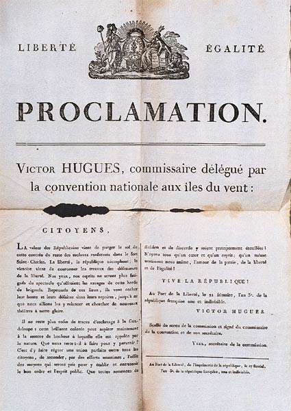 Printed document in French.